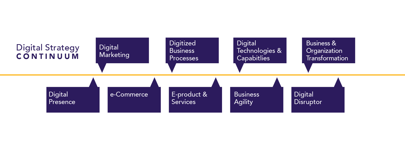 Digital Strategy Continuum