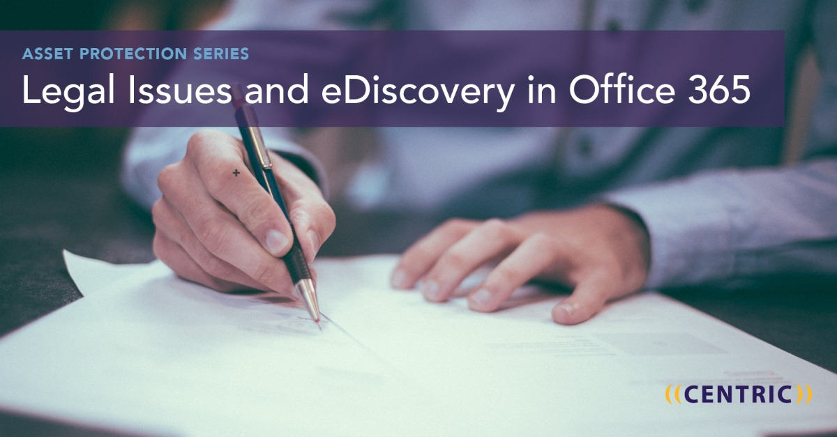ediscovery office 365