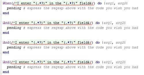 Using Parameters in Your BDD Gherkin Script