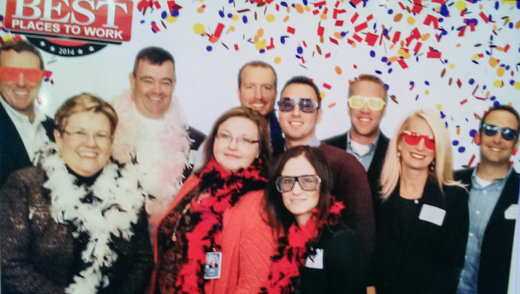 Employees attending the celebration from Centric are pictured above. From left to right: Greg Pendleton, Linda Farrenkopf, Brad Stagmyer, Mary France, Kyle Buggie, Albert Guzman, Denisa Suta, Mike Kaiser, Gina Heffner, and Mike Pugh.