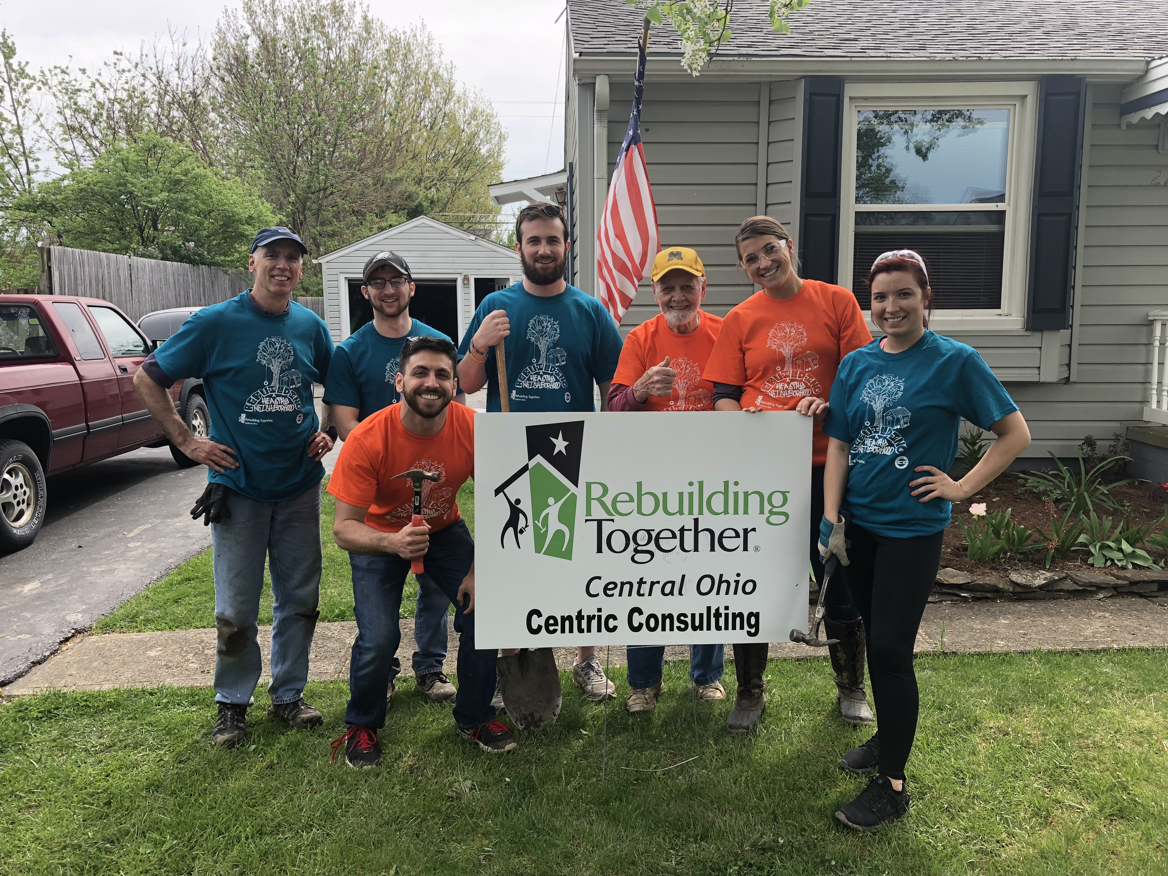 Rebuilding Together & Centric Consulting Team