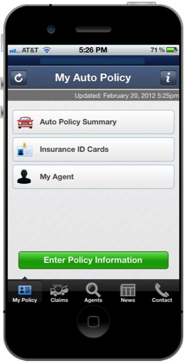 Insurance Mobile App Development – A Case Study