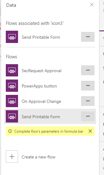 how to print a form in powerapps