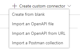 Create Custom Connection