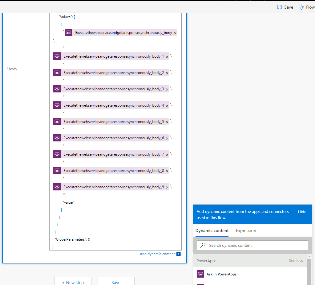 PowerApps Flow Screen 5