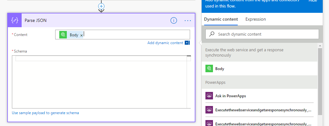 PowerApps Flow Screen7