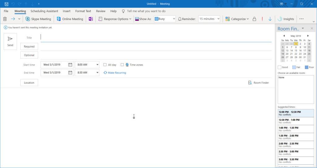 Outlook Update 1