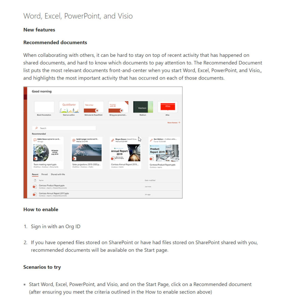 Outlook Updates 7