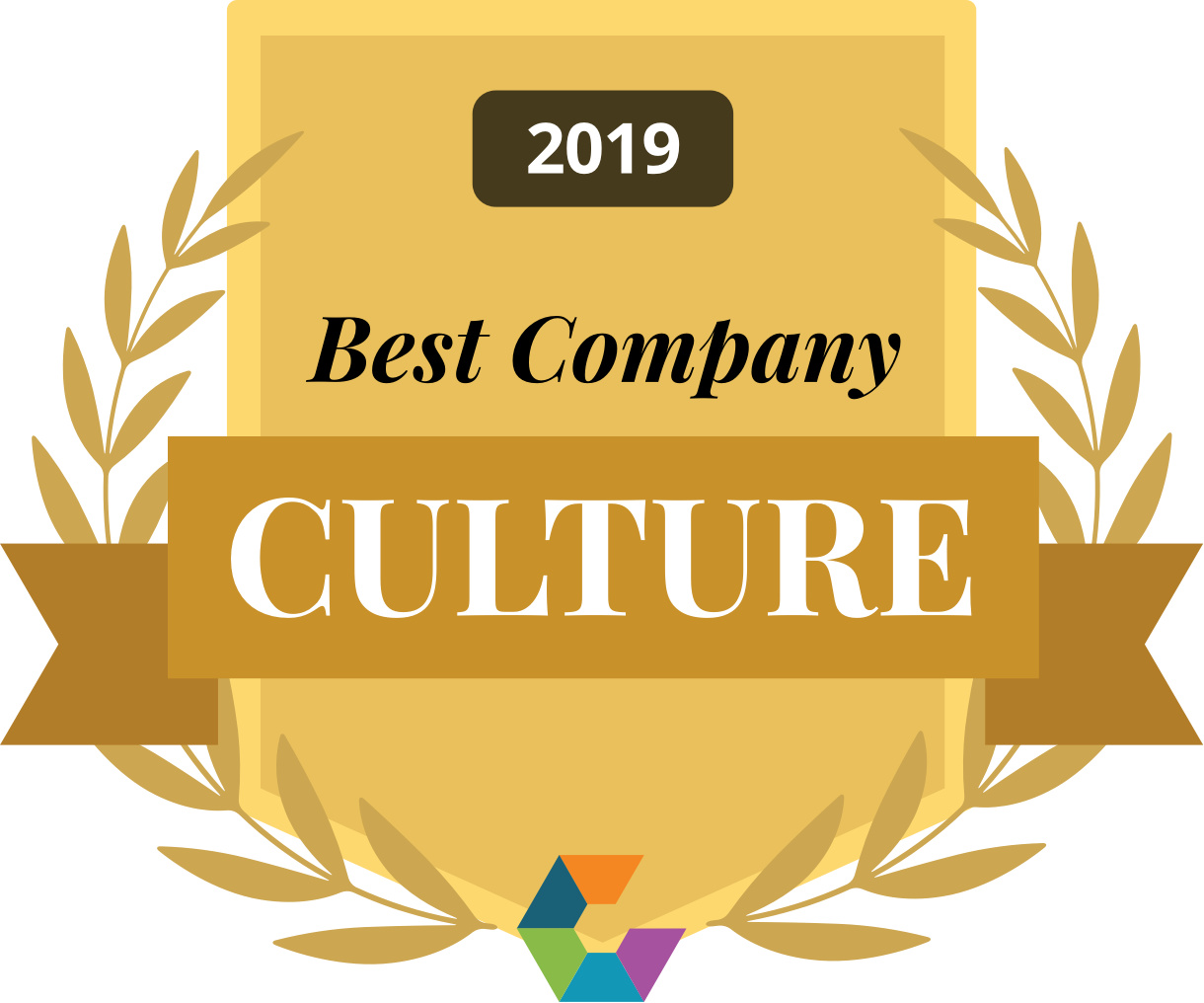 Best Company Culture 2019 Gold Large