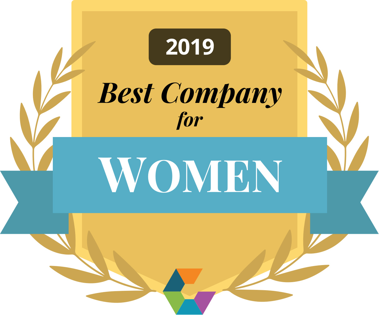 Best Company For Women 2019 Gold Large