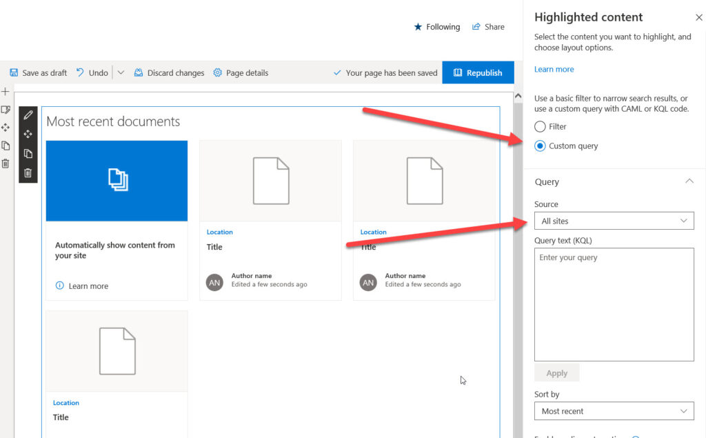 SharePoint Online Highlighted 2